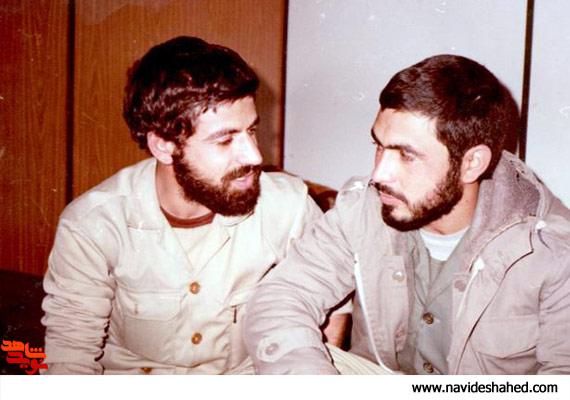 عكس هاي منتشر نشده اي از شهيد مصطفي رداني پور؛ فرمانده قرارگاه فتح سپاه پاسداران