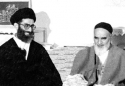 Revolution Supreme Leader memory of first visit with Imam after fifteen years