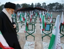 Leader Pays Homage to Late Founder of Iran's Islamic Rpublic
