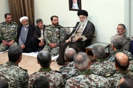 Defying threats on the front lines is a great opportunity for brave forces: Ayatollah Khamenei