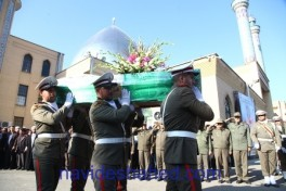 3 martyrs of anti-terror operation in Iran laid to rest