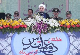 Iranian Armed Forces Region's Top Anti-Terror Power: President