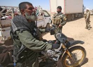How the Iraqi Soldier rode the Motorcycle of the Iranian commander