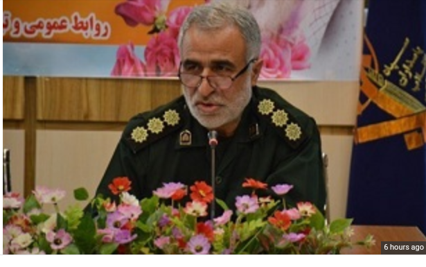 Colonel Saeid Adibi joined his martyr's friends