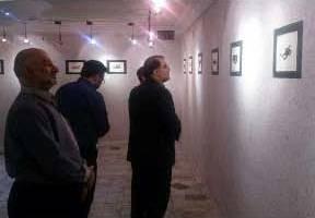 نمایشگاه انفرادی طراحی لوگو فرزند جانباز قزوینی افتتاح شد
