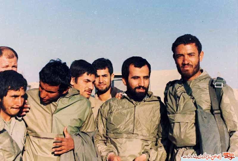 فرمانده سری ترین قرارگاه جنگ شهید علی هاشمی (منتشر نشود)