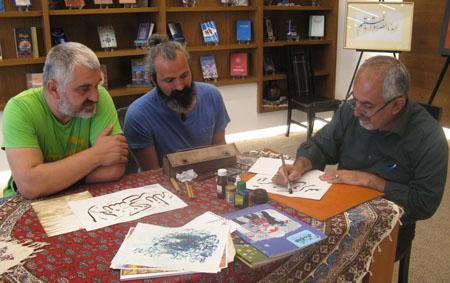 گفتگوی اختصاصی نوید شاهد فارس با جانباز هنرمند «استاد کامرانی»