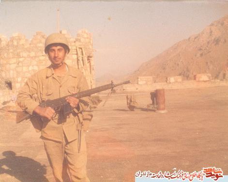 من يك سرباز هستم؛ سرباز يعنى سر باختن در راه اسلام