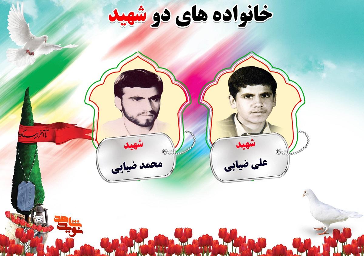 دو شهیدی های استان مرکزی   شهیدان ضیایی ، عباسی ، عبدحمیدآوی و عسگری مهرآبادی
