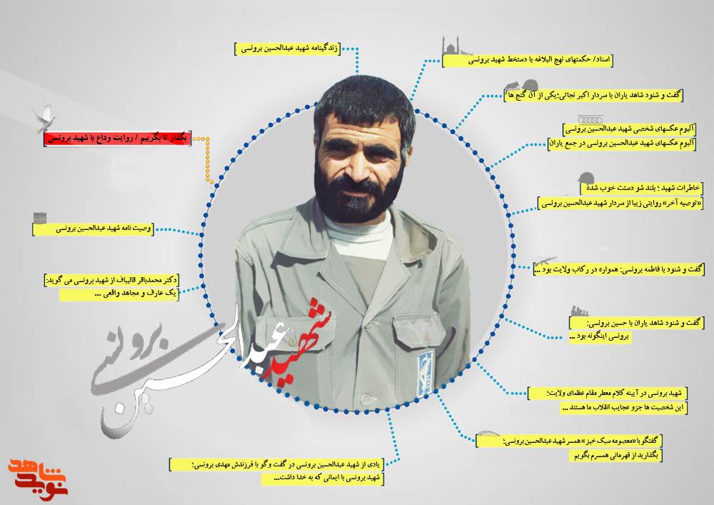 ویژه نامه شهید عبدالحسین برونسی